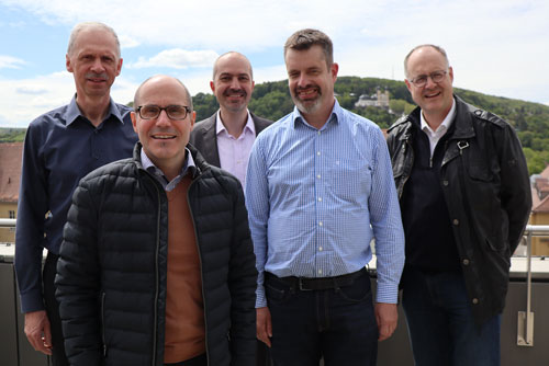 Project group, new co-operation between Jönköping University and O the University of Applied Sciences Würzburg-Schweinfurt in Germany