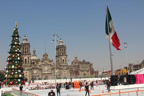 Mexico iceskating